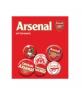 Arsenal Button Badge Set