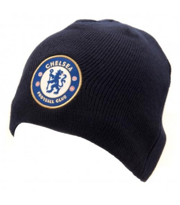 Chelsea Team Knitted Hat - Navy