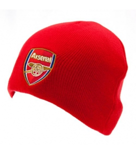 Arsenal Team Knitted Hat - Red
