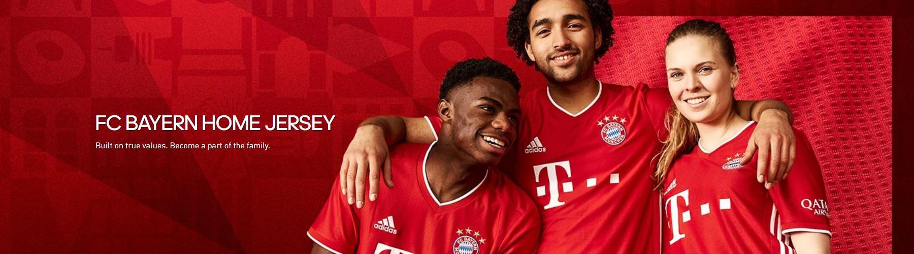 FC Bayern home shirt 2020/21