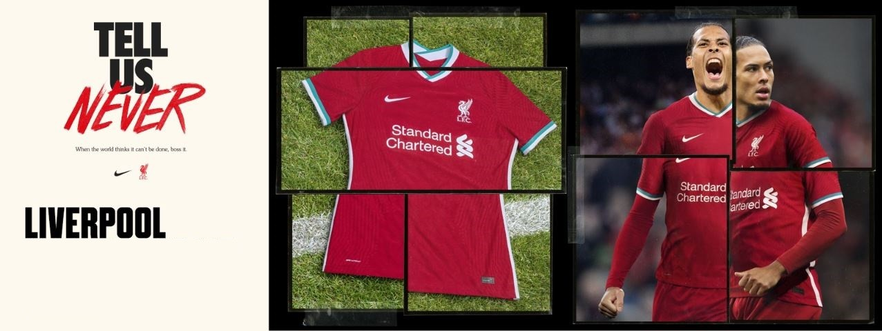 FC Liverpool home shirt 2020/21