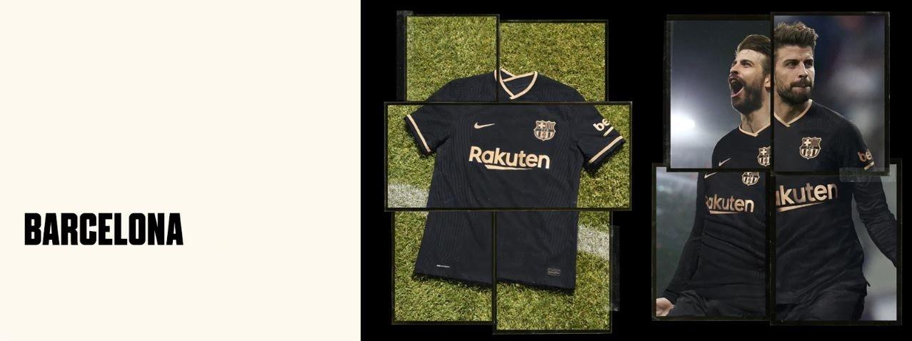 FC Barcelona away shirt 2020/21